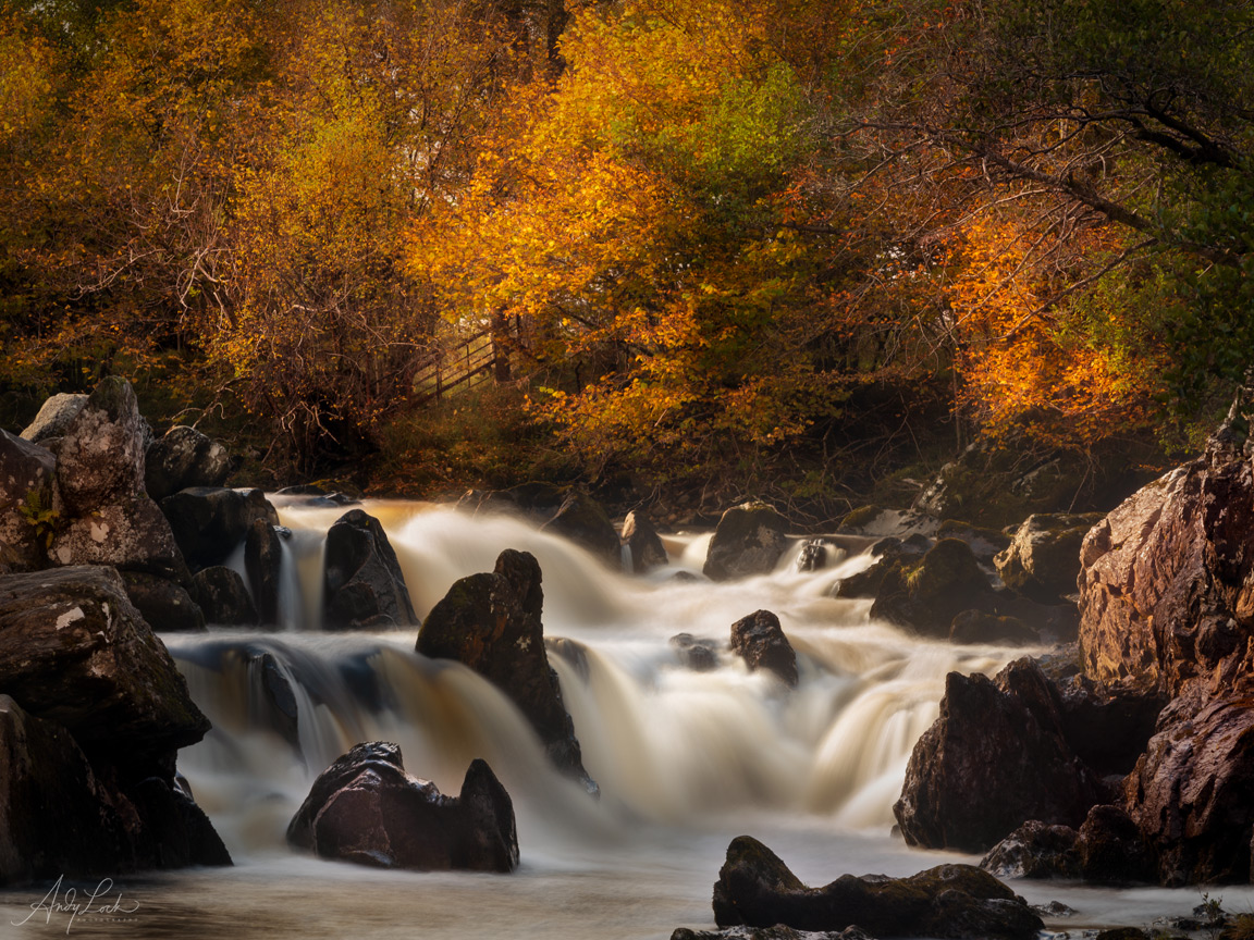 Autumn Falls in Perthshire